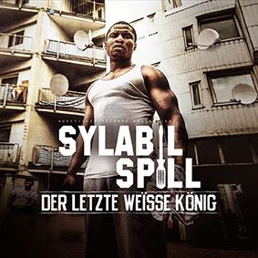 Der Bonner Rapper Sylabil Spill mit seinem Kopfticker Debüt