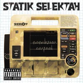 "Statik Selektah presents his 4th producer album entitled ""Population Control"" …"