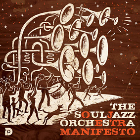 "The Souljazz Orchestra returns in full force with their new album ""Manifesto"" …"