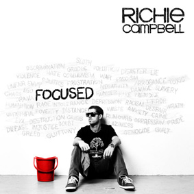 """Afrojam Music brings Richie Campbell's full-length album entitled """"Focused"""" for the first time on CD"""