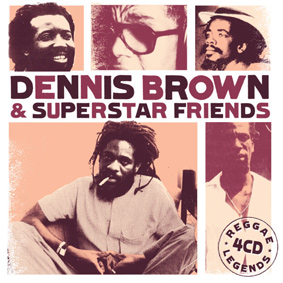 "VP Records proudly presents the latest edition to the ""Reggae Legends"" series showcasing the work of Dennis Brown and friends"