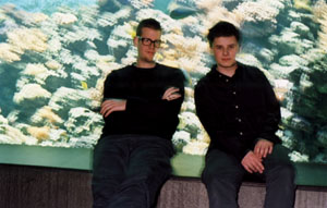 """VAN DELTA go digital ! The Cologne based duo release their first cd """"Studio Reality"""" on 17 April …"""