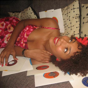 Introducing Lucinda Slim – the alter ego of Nia Saw …