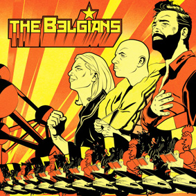 """The Experimental Tropic Blues Band present their new album """"The Belgians"""""""