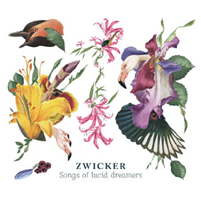"Zurich based producer Zwicker with his debut album ""Songs Of Lucid Dreamers"" …"