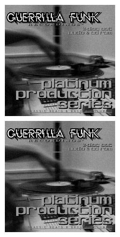 GUERRILLA FUNK RECORDINGS presents Platinum Production Series Classic Beats & Breaks, Vol. 1 & 2 …
