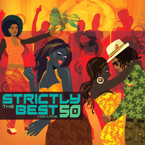 Strictly The Best 50 is a double shot of lover's rock and singers hits celebrating the 35th anniversary of VP Records in the US