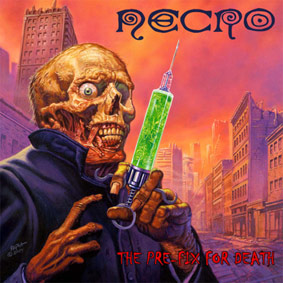 The new album from NECRO with guests #0 (Slipknot), Darryl Jennifer (Bad Brains), Dan Lilker (Nuclear Assault) and many more …
