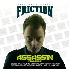 DJ Friction presents the first volume of his all-new mix CD series …