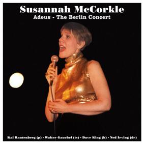 American jazz singer Susannah McCorkle (1946 – 2001) and quartet live in Berlin 1996