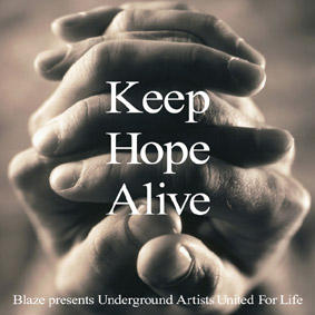 """BLAZE """"Pres. Keep Hope Alive"""" (King Street): Benefit album for LIFEbeat (The Music Industry Fights AIDS) …"""