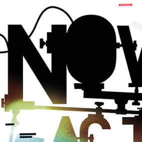 """THE NOW FACTOR"" – a cutting-edge producer work by the likes of Dimlite, Justin Sayne, Meaty Ogre or Reezm …"