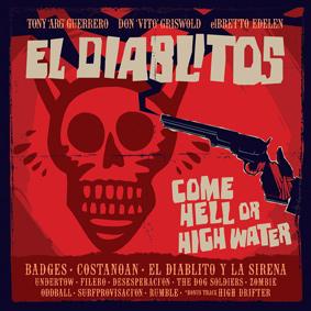 New album by El Diablitos from Portland, Oregon featuring Tony 'ARG' Guerrero