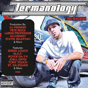 "Termanology returns with his second official album ""Time Machine"" …"