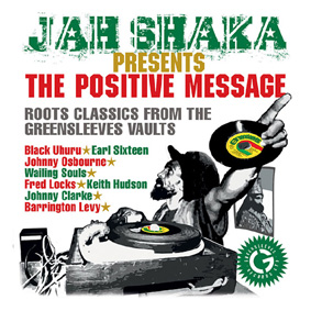 "Jah Shaka presents ""The Positive Message"" truly captures the unique essence of a Jah Shaka dance …"