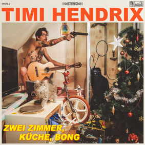 Trailerparks Poster-Junk Timi Hendrix mit seinem Solo-Debüt zwischen Wohnwagensiedlung und Betty-Ford-Klinik