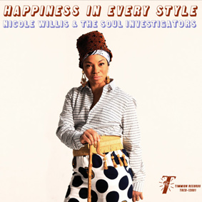 Happiness In Every Style is an excursion into the creative realm of Nicole Willis & The Soul Investigators