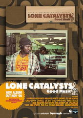 LONE CATALYSTS interview on Allhiphop.com …