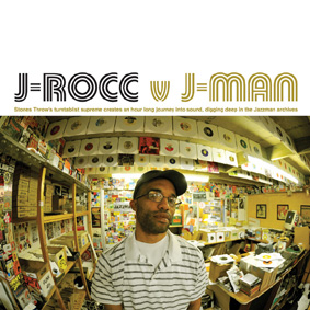 J-Rocc teams up with Jazzman Records and delivers one of the finest collaboration mixes to date …