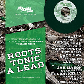 "Hi-Score Music is proud to present the brand new ""ROOTS TONIC A LEAD"" compilation …"