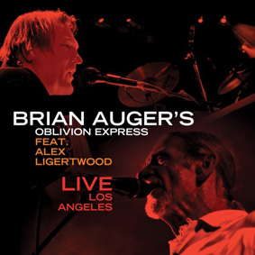 Incredible new live album from Brian Auger's Oblivion Express on Freestyle Records
