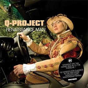 """Q-PROJECT presents """"Renaissance Man"""" on Hospital – 18 dancefloor classics in the mix …"""