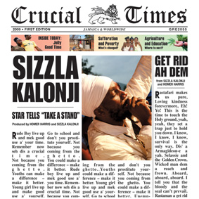 """""""Crucial Times"""" celebrates Sizzla's close work with mentor and producer Homer Harris …"""