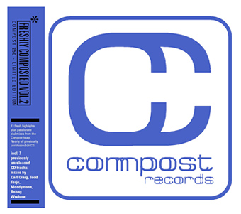 "Compost Records celebrates it's 250th release with the label compilation ""COMPOST 250 – FRESHLY COMPOSTED VOL. 2"" …"