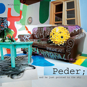 """The award winning producer PEDER presents his solo album """"And He Just Pointed To The Sky"""" …"""