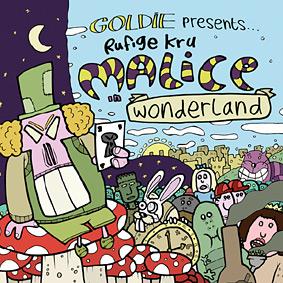 GOLDIE is back in business using his RUFIGE KRU moniker …
