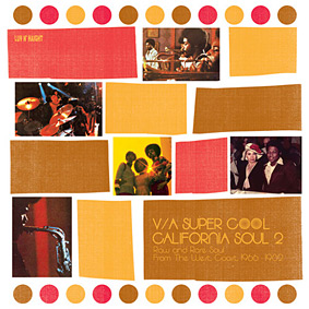 """The second volume in the """"CALIFORNIA SOUL"""" series features music recorded between 1966 and 1982 …"""