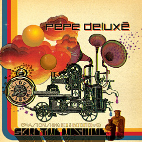 The first new studio album from Finland's PEPE DELUXE since 2003 …