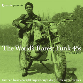 QUANTIC presents another selection of some of the best and rarest funk 45s …