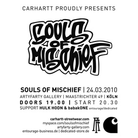 Souls Of Mischief tour, Carhartt instores & limited box-set release …