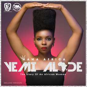 "Top African Awards winner Yemi Alade is ready to release her second studio album ""Mama Africa"""