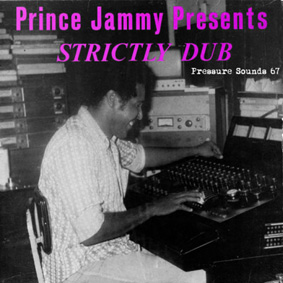Pressure Sounds presents an obscure vinyl dub album by Prince Jammy …