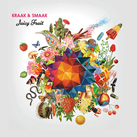 "Dutch masters Kraak & Smaak present their fifth studio album ""Juicy Fruit"" on Jalapeno Records"