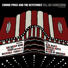 CONNIE PRICE & THE KEYSTONES step up with a heavy weight dynamic soundtrack inspired and funk rooted hip hop album …