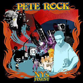 The legendary hip-hop producer/dj PETE ROCK with his first studio album in four years …