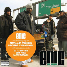 EMC is the new super group featuring Masta Ace, Punchline & Wordsworth, and Stricklin …