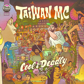 Taiwan MC returns with his brand new record 'Cool & Deadly' via Chinese Man Records