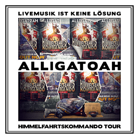 Alligatoah – Livemusik Ist Keine Lösung – Himmelfahrtskommando (Trailerpark)