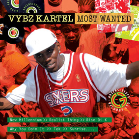 Vybz Kartel – Most Wanted (Greensleeves)