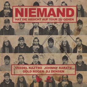 Veedel Kaztro, Johnny Rake, Gold Roger & DJ Densen – Niemand Hat Die Absicht Auf Tour Zu Gehen (Melting Pot Music)